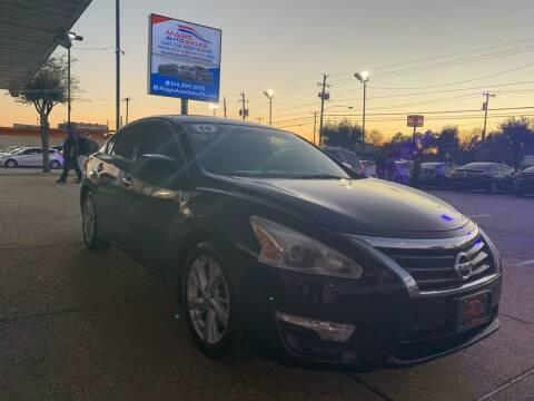 2014 Nissan Altima for sale at Magic Auto Sales - Cash Cars in Dallas TX