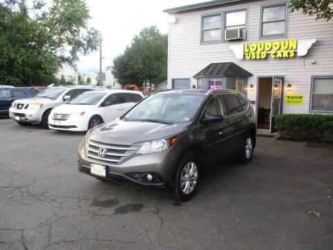 2014 Honda CR-V for sale at Loudoun Used Cars in Leesburg VA