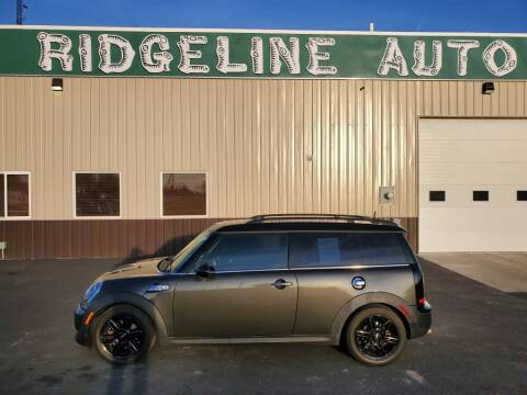 2014 MINI Clubman for sale at RIDGELINE AUTO in Chubbuck ID