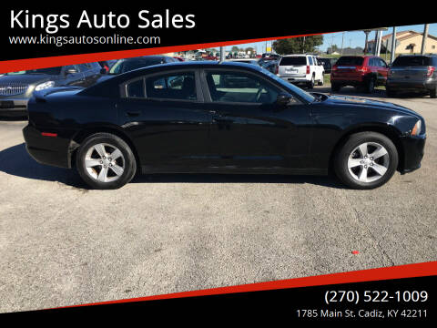 2012 Dodge Charger for sale at Kings Auto Sales in Cadiz KY