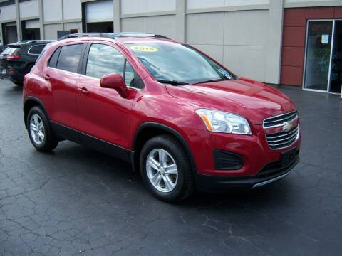 2015 Chevrolet Trax for sale at Blatners Auto Inc in North Tonawanda NY