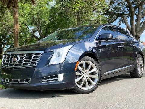 2013 Cadillac XTS for sale at HIGH PERFORMANCE MOTORS in Hollywood FL