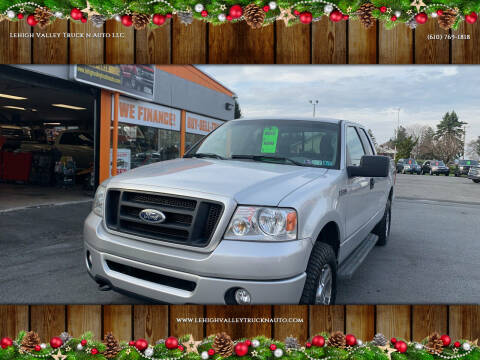 2008 Ford F-150 for sale at Lehigh Valley Truck n Auto LLC. in Schnecksville PA