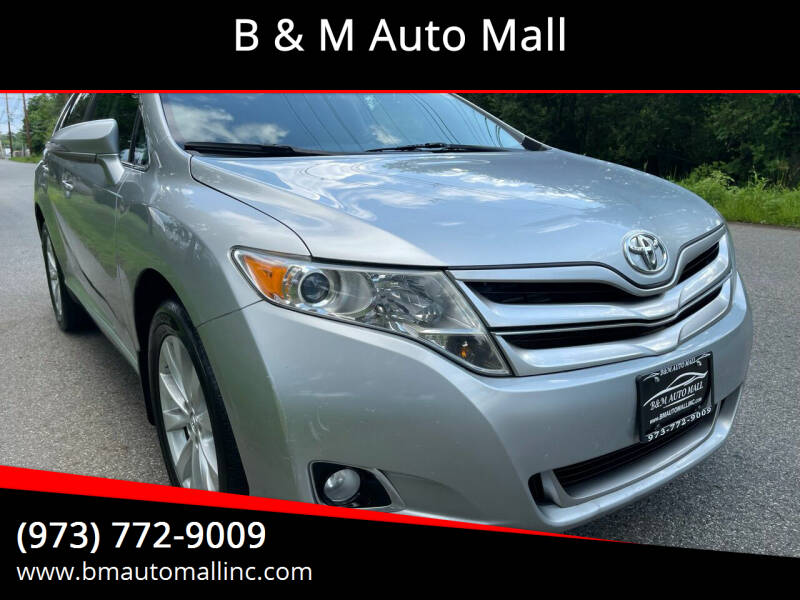 2015 Toyota Venza for sale at B & M Auto Mall in Clifton NJ
