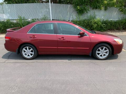 2004 Honda Accord for sale at BITTON'S AUTO SALES in Ogden UT