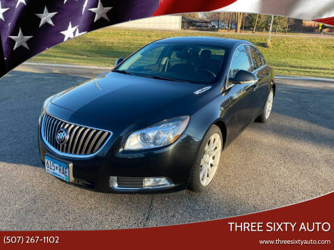 2012 Buick Regal for sale at Three Sixty Auto in Elysian MN