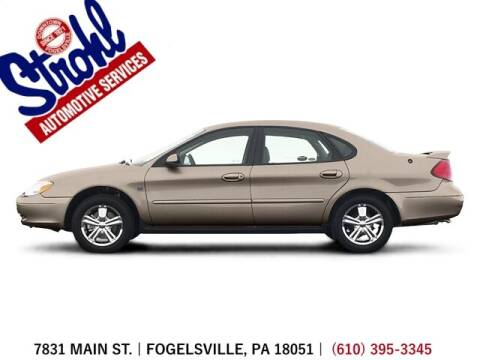 2003 Ford Taurus for sale at Strohl Automotive Services in Fogelsville PA