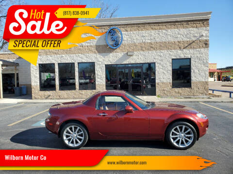 2007 Mazda MX-5 Miata for sale at Wilborn Motor Co in Fort Worth TX
