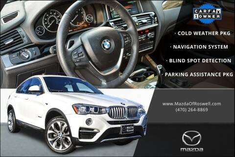2018 BMW X4 for sale at Mazda Of Roswell in Roswell GA