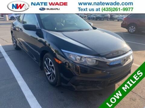 2016 Honda Civic for sale at NATE WADE SUBARU in Salt Lake City UT