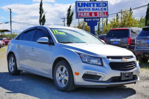 2016 Chevrolet Cruze Limited for sale at United Auto Sales in Anchorage AK