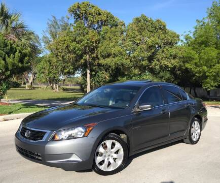 2008 Honda Accord for sale at FIRST FLORIDA MOTOR SPORTS in Pompano Beach FL