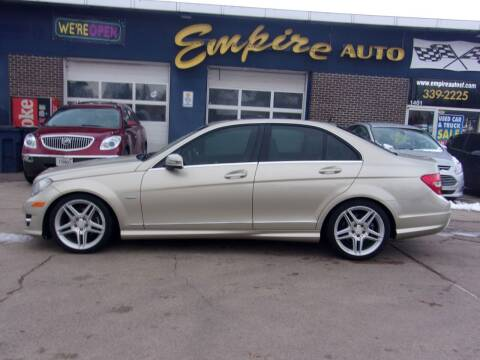 2012 Mercedes-Benz C-Class for sale at Empire Auto Sales in Sioux Falls SD