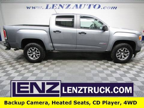2021 GMC Canyon for sale at LENZ TRUCK CENTER in Fond Du Lac WI