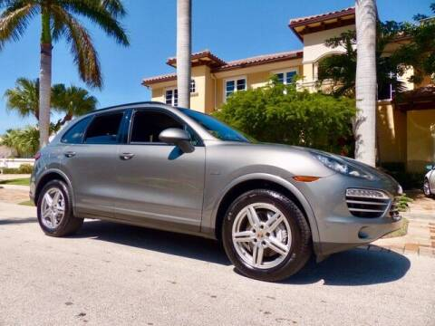 2014 Porsche Cayenne for sale at Lifetime Automotive Group in Pompano Beach FL