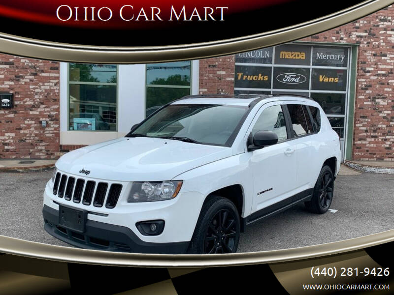 2015 Jeep Compass for sale at Ohio Car Mart in Elyria OH