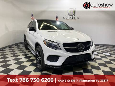 2019 Mercedes-Benz GLE for sale at AUTOSHOW SALES & SERVICE in Plantation FL