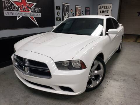 2014 Dodge Charger for sale at ROCKSTAR USED CARS OF TEMECULA in Temecula CA