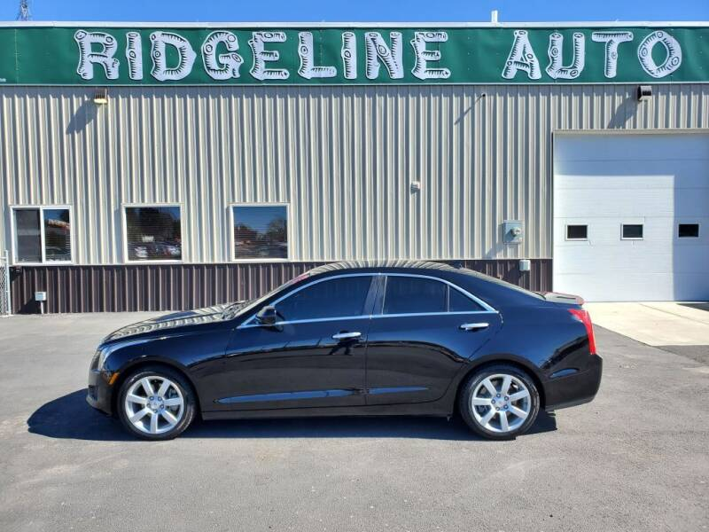 2013 Cadillac ATS for sale at RIDGELINE AUTO in Chubbuck ID