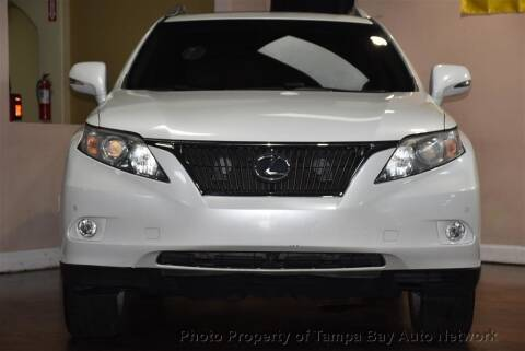 2010 Lexus RX 350 for sale at Tampa Bay AutoNetwork in Tampa FL