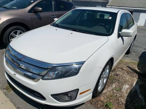 2012 Ford Fusion for sale at Better Auto in South Darthmouth MA