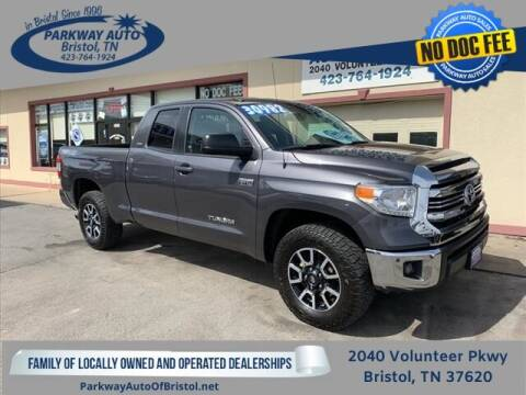 2017 Toyota Tundra for sale at PARKWAY AUTO SALES OF BRISTOL - Roan Street Motors in Johnson City TN