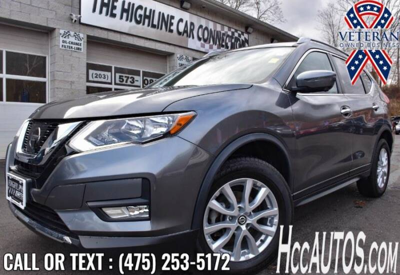 2017 Nissan Rogue for sale at The Highline Car Connection in Waterbury CT