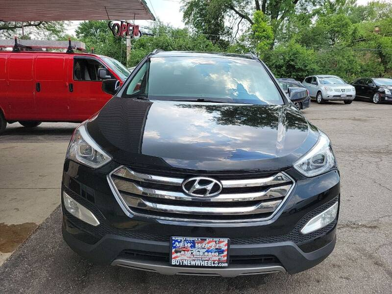 2014 Hyundai Santa Fe Sport for sale at New Wheels in Glendale Heights IL