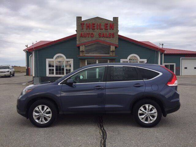 2012 Honda CR-V for sale at THEILEN AUTO SALES in Clear Lake IA