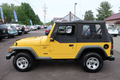 2001 Jeep Wrangler for sale at GEG Automotive in Gilbertsville PA
