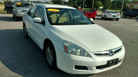 2006 Honda Accord for sale at Kelly & Kelly Supermarket of Cars in Fayetteville NC