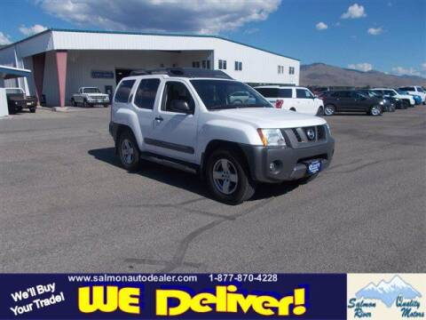 2007 Nissan Xterra for sale at QUALITY MOTORS in Salmon ID