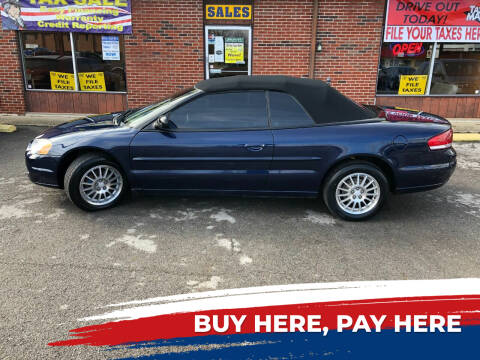 2006 Chrysler Sebring for sale at Atlas Cars Inc. in Radcliff KY