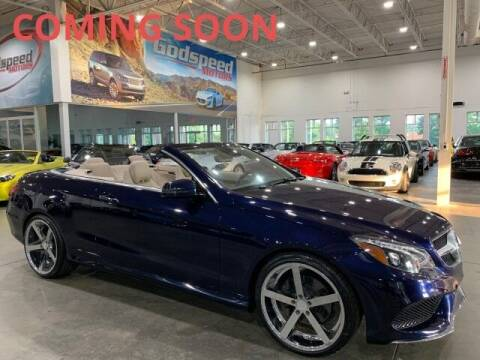 2016 Mercedes-Benz E-Class for sale at Godspeed Motors in Charlotte NC