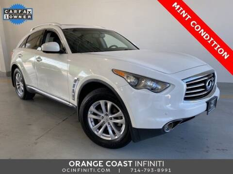 2012 Infiniti FX35 for sale at ORANGE COAST CARS in Westminster CA