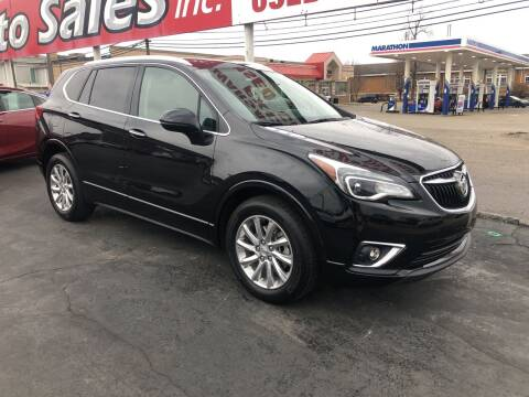 2019 Buick Envision for sale at N & J Auto Sales in Warsaw IN