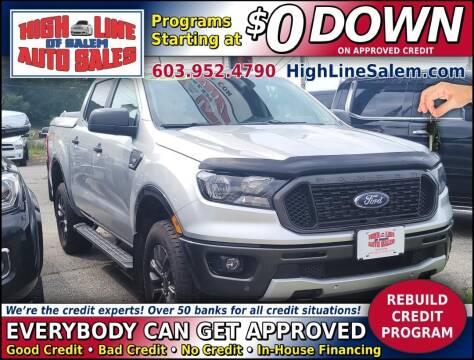 2019 Ford Ranger for sale at High Line Auto Sales of Salem in Salem NH