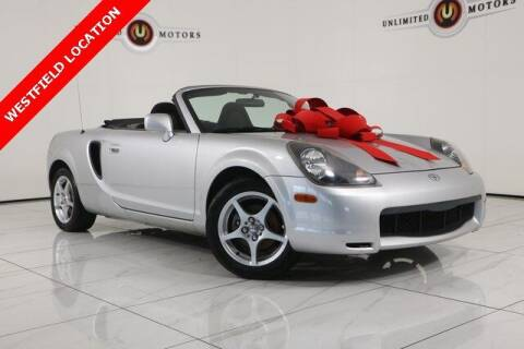 2000 Toyota MR2 Spyder for sale at INDY'S UNLIMITED MOTORS - UNLIMITED MOTORS in Westfield IN