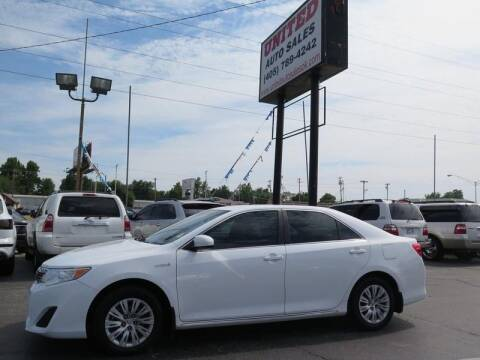2012 Toyota Camry Hybrid for sale at United Auto Sales in Oklahoma City OK