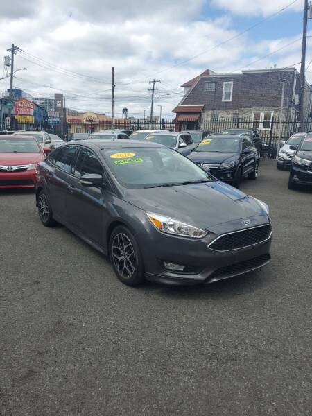 2016 Ford Focus for sale at Key & V Auto Sales in Philadelphia PA