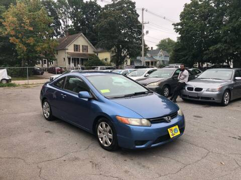 2006 Honda Civic for sale at Emory Street Auto Sales and Service in Attleboro MA