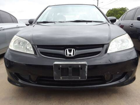 2005 Honda Civic for sale at Auto Haus Imports in Grand Prairie TX