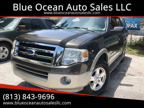 2008 Ford Expedition for sale at Blue Ocean Auto Sales LLC in Tampa FL