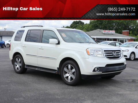 2015 Honda Pilot for sale at Hilltop Car Sales in Knox TN