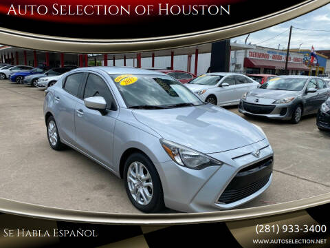 2017 Toyota Yaris iA for sale at Auto Selection of Houston in Houston TX