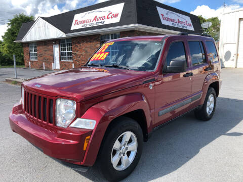2012 Jeep Liberty for sale at tazewellauto.com in Tazewell TN