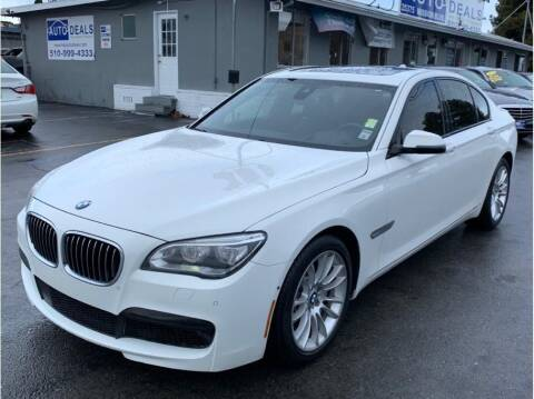 2015 BMW 7 Series for sale at AutoDeals in Hayward CA
