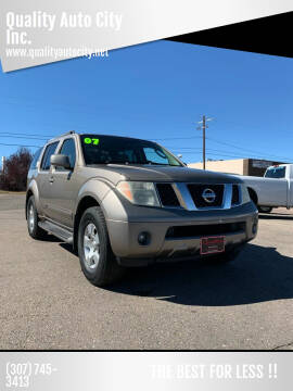 2007 Nissan Pathfinder for sale at Quality Auto City Inc. in Laramie WY