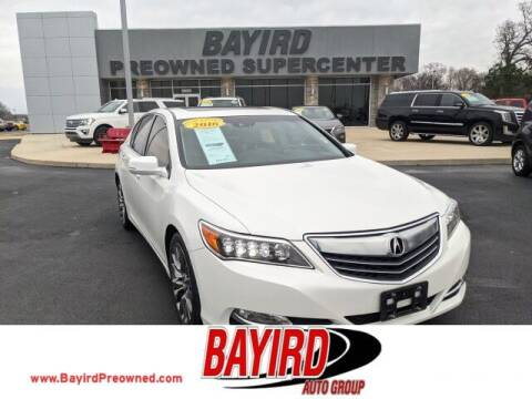 2016 Acura RLX for sale at Bayird Truck Center in Paragould AR