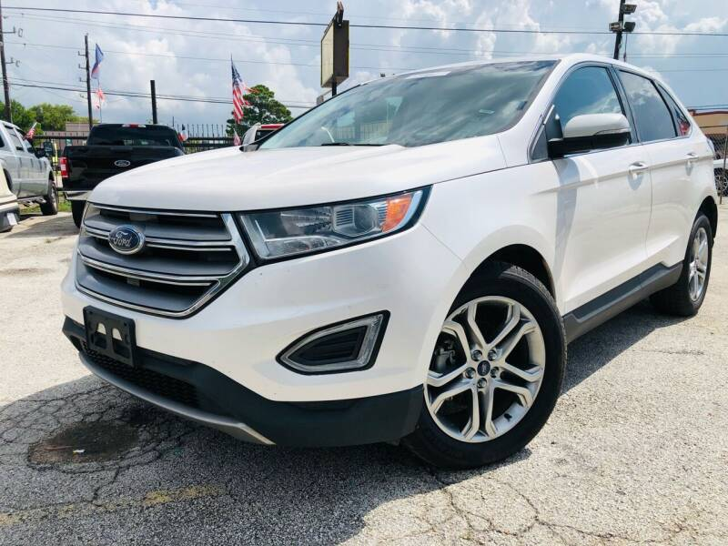 2016 Ford Edge for sale at Lion Auto Finance in Houston TX